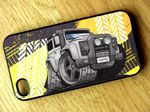 Koolart TYRE TRAX 4x4 Design For Land Rover Defender Twisted Hard Case Cover Fits Apple iPhone 4 & 4s